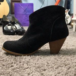 Black Rampage booties